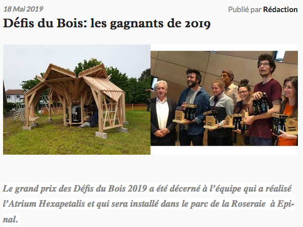 Echo des Vosges
