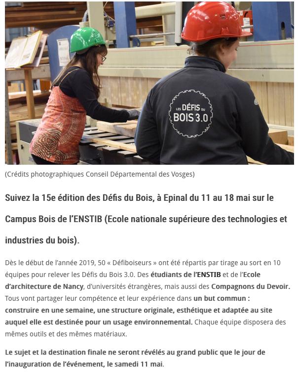 Saint Dié Info